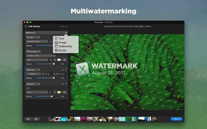 Watermark app for Mac