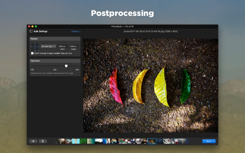 How to resize an image on Mac